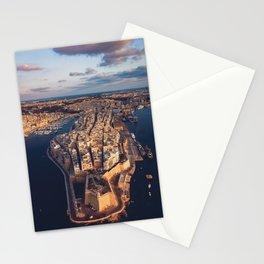The Three Cities Senglea Malta | Aerial  Stationery Cards