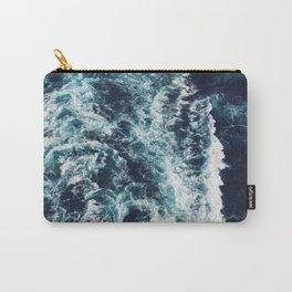 DARK BLUE OCEAN Carry-All Pouch