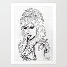 Ronnie Art Print