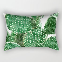 Velvet Cactus Rectangular Pillow