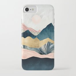 Plush Peaks iPhone Case
