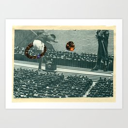 Cutters Football in Moscow Print Art Print