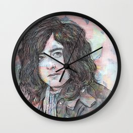 Jimmy Page - Heartbreaker Wall Clock