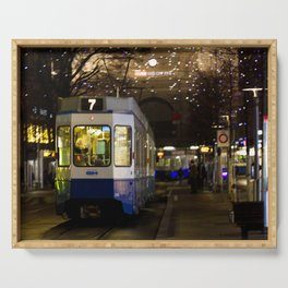 Tram Zurich 2020  Serving Tray