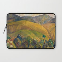 Diego Rivera - Pyrenees Mountains Catalonia, Spain landscape painting Laptop Sleeve
