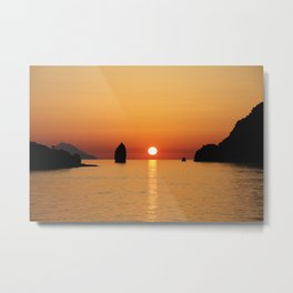 Aeolian Islands, Sicily Metal Print