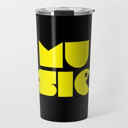Music Man Rave Quote Travel Mug