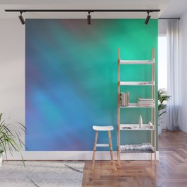 Mystic - Green and Blue Wall Mural