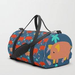 Pigs Pattern13 Duffle Bag