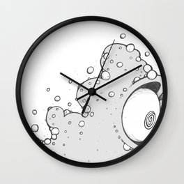 Bob up close Wall Clock