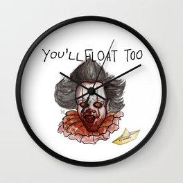 YOU'LL FLOAT TOO. Wall Clock