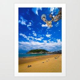 Donostia San Sebastian Art Print