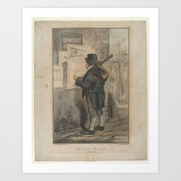 Outward Bound (Dublin) , Currier & Ives (American, active New York, 1857–1907) Art Print