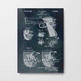 1937 - Firearm Metal Print