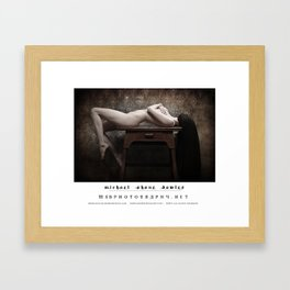 dark things 7 part one Framed Art Print