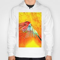 parrot Hoodies featuring Parrot by Ganech joe