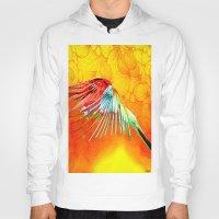 parrot Hoodies featuring Parrot by Joe Ganech