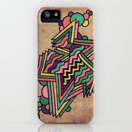 Neon Grit iPhone Case