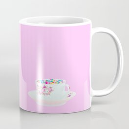 Glitter Tea Party Coffee Mug