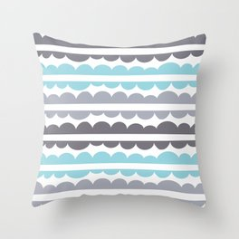 Mordidas Island Paradise Throw Pillow