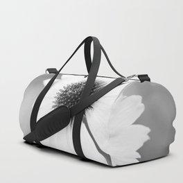 Beautiful Echinacea Flower Black and White #decor #society6 #buyart Duffle Bag