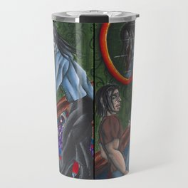 Distorted Travel Mug