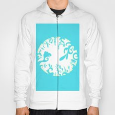 Abstractly Blue  Hoody