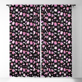 Piggy Pattern Presents Blackout Curtain