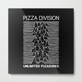 Pizza Division Metal Print