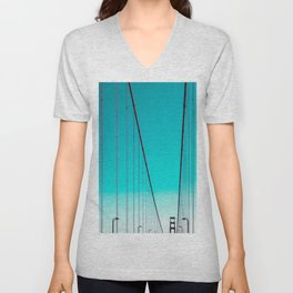 By this post you might have noticed that I'm not very fond of diagonals. Unisex V-Neck
