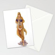 Mama Kangaroo Stationery Cards