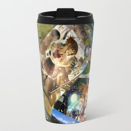 Collage Travel objects of memories & of fav anime! Travel Mug