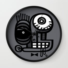 Of Course You Can Trust Me Wall Clock