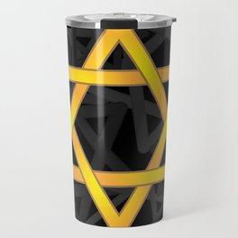 Elegant Celtic style star design Travel Mug