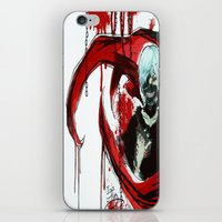 tokyo ghoul iPhone & iPod Skins featuring Tokyo Ghoul - Kaneki Ken by IzaPug