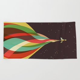 Kaleidoscope to the Stars Beach Towel