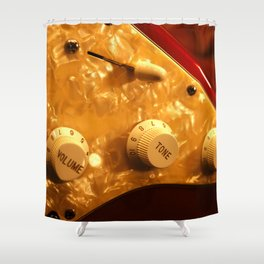 Control Knobs Shower Curtain