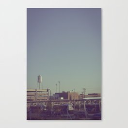 Durham Station Canvas Print