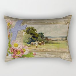 Best Easter Wishes Rectangular Pillow