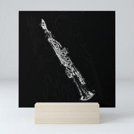 Soprano Saxophone Mini Art Print