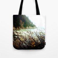 oregon Tote Bags featuring Oregon by Danielle DePalma