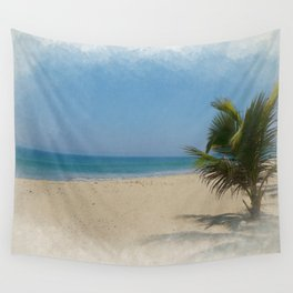 Travel Painting - San Pancho, MX Wall Tapestry