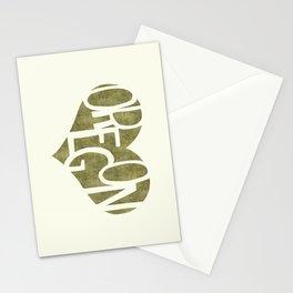 I Love Oregon Stationery Cards