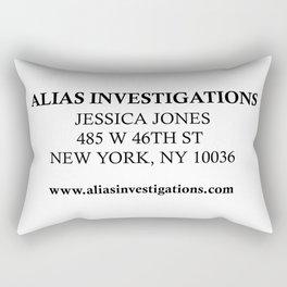 Jessica Jones - Alias Investigations Rectangular Pillow