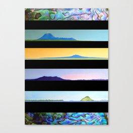 NEW ZEALAND PAUA LANDSCAPES Canvas Print