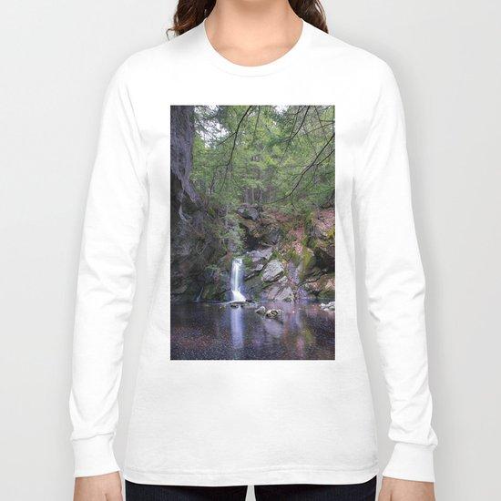 Purgatory Falls NH in May Long Sleeve T-shirt