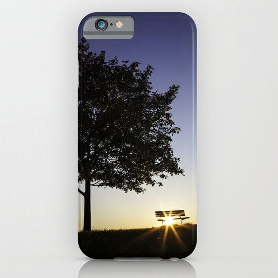 Tree and Bench iPhone & iPod Case