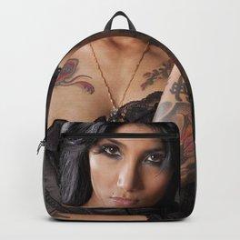 Lepa on Blue Backpack