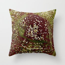 Zahatar Throw Pillow