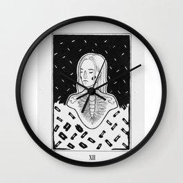 SKELETON GIRL Wall Clock
